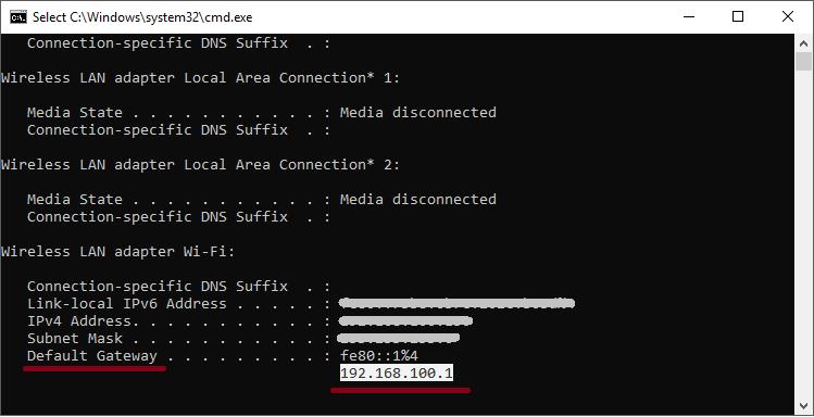 default-gateway