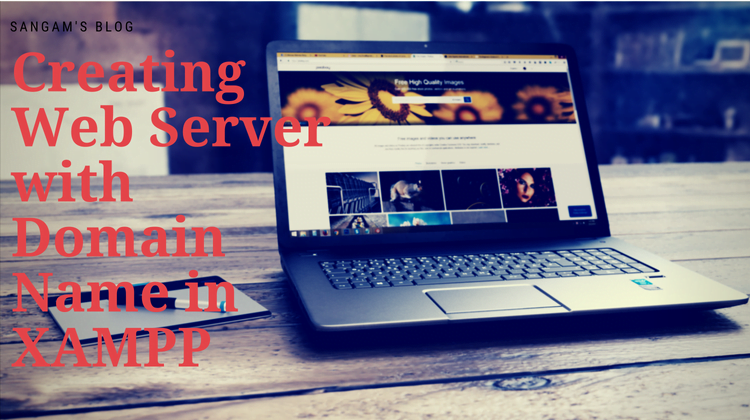 web server with domain name in xampp