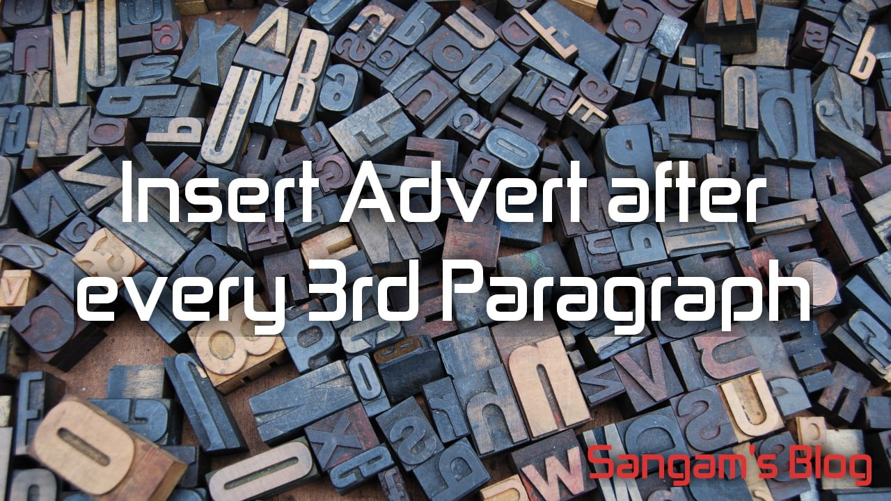 Read more about the article How to Insert Auto Repeating AdSense Ads Between Paragraphs Without Plugin