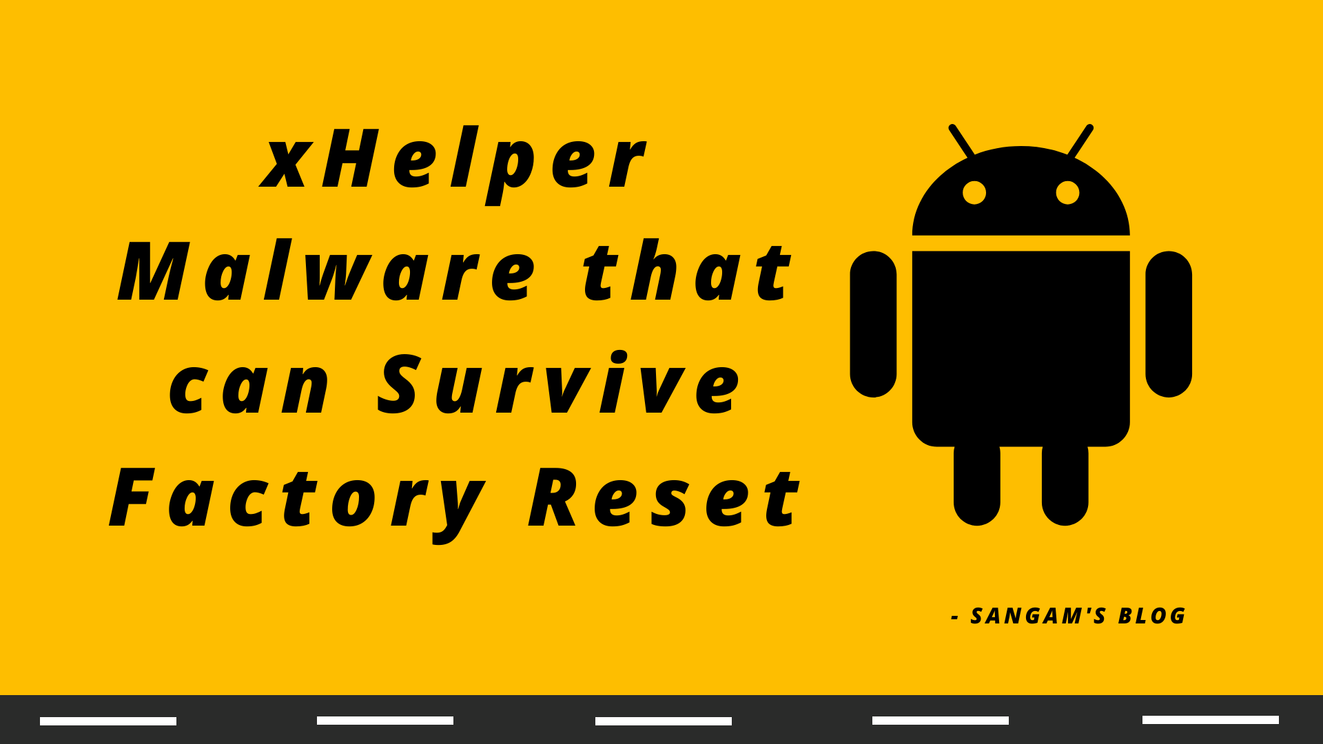 Read more about the article How to get rid of xHelper Virus