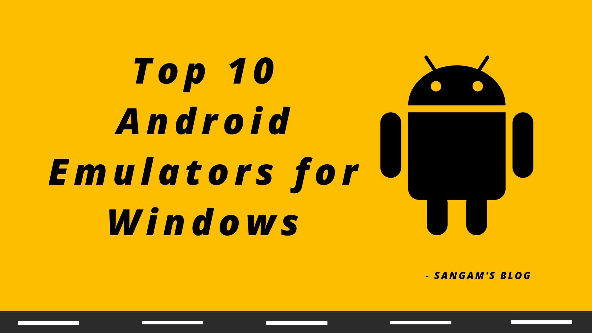 Read more about the article Best Android Emulator For Low-End PC